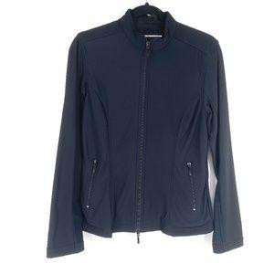 Anatomie lightweight travel jacket black front zip